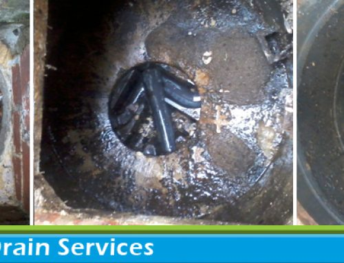 High Pressure Drain Jetting in Crowthorne