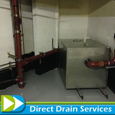 Cleaned grease trap