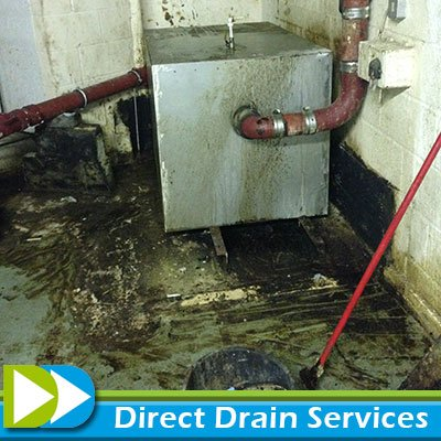 Grease trap cleaning at a hotel in London