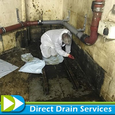 Unblocking grease trap