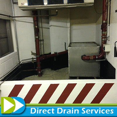 Repaired grease trap